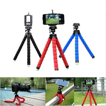 Mini Flexible Stand Mount With Holder For Smartphone or Camera