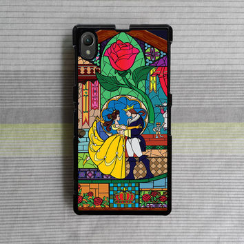 Sony Xperia Z case , Sony Xperia Z1 case , Sony Xperia Z2 case , Beauty and the Beast