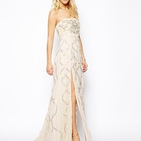 Needle & Thread Ornate Prom Maxi Dress