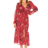 THE JETSET DIARIES Autumn Maxi Dress in Autumn Floral | REVOLVE