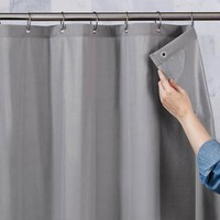 Better Homes and Gardens Ultimate Shield Fabric Shower Curtain Liner - Walmart.com