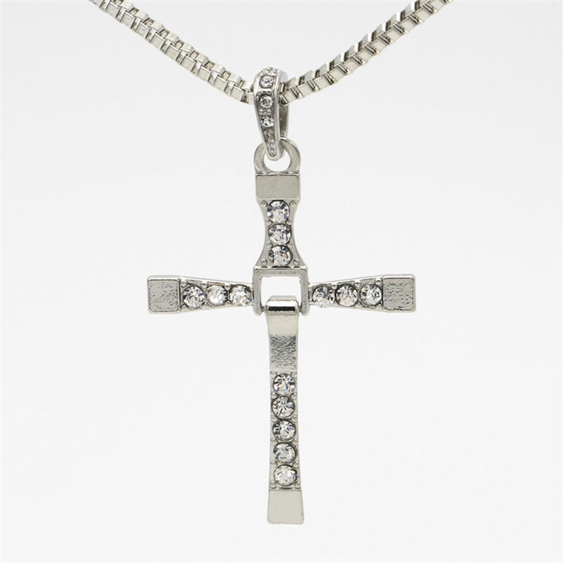 Fast and Furious 7 Fine Jewelry Cross Necklace with Pendant for Men e0d41d3a6f
