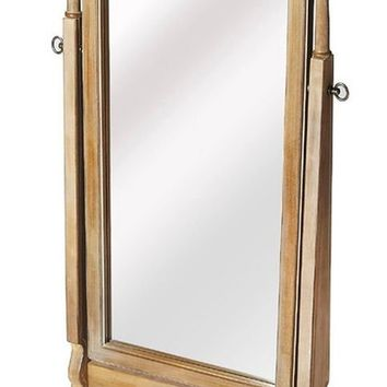 Butler Meredith Driftwood Cheval Mirror