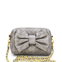 quilted-bow-front-bag PEWTER - GoJane.com