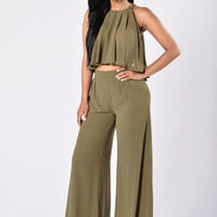 Allegra Set - Olive