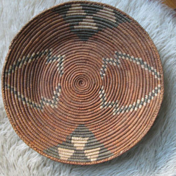 African Basket / Tray from Botswana