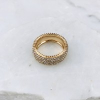 All Your Rhinestone Gold Band