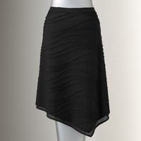 Simply Vera Vera Wang Windy Pintuck Skirt - Women's