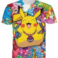 Pikachu in Kandiland T-Shirt | Tees from RageOn