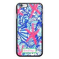 New Lilly Pulitzer She She Shells Hard Plastic Case For iPhone 6s 6s plus