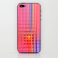 Pink Mosaic iPhone & iPod Skin by Christine baessler