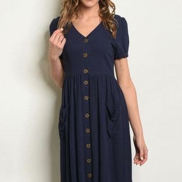 Jane Button Dress