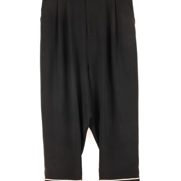 Junya Watanabe Drop Crotch Pants with Stripe Detail