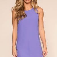 A Touch Of Sugar Dress - Periwinkle