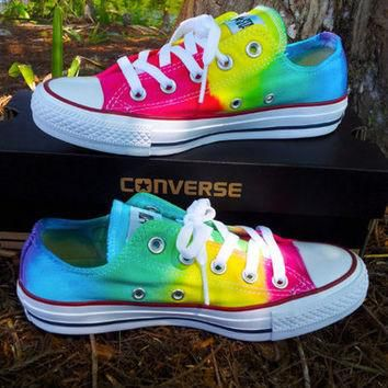Authentic Tie Dye Converse