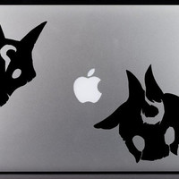 League of Legends Kindred Mask Decal Set