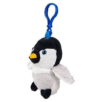 Wildlife Tree Baby Penguin Plush 3.5 Inch Stuffed Animal Backpack Clip Toy Keychain Wildlife Hanger Party Favor Pack of 12