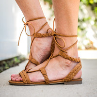 Tied Just Right Sandal