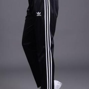 """Adidas"" Unisex Classic Clover Three Bars Plus Cashmere Long Sports Pants Couple Casual Pants"