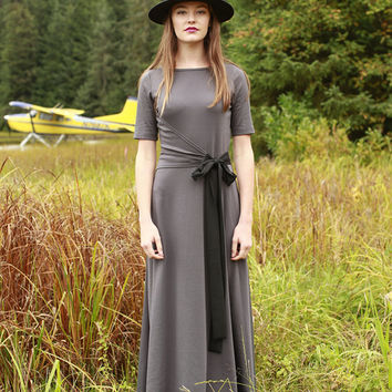 River Glade Dress Grey
