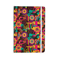 "Louise Machado ""Arabesque Floral"" Bright Colorful Everything Notebook"