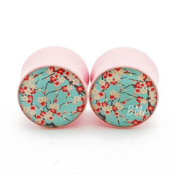 Cherry Blossoms Plugs (2mm-25mm)