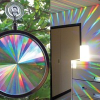 Suncatcher - Rainbow Axicon Window Sun Catcher - These Suncatcher are Great f...