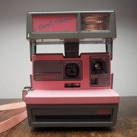 Polaroid Cool Cam Pink and Grey - Polaroid 600 Instant Camera