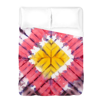 To the Festival we Go Duvet Cover