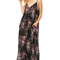 Blissful Floral Maxi Dress