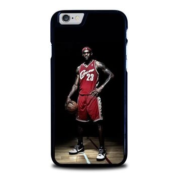 lebron james cleveland iphone 6 6s case cover  number 1