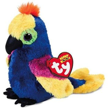 Ty® Beanie Boos Wynnie the Parrot Stuffed Animal, 6""