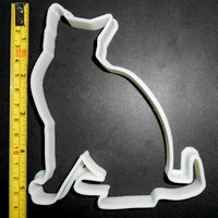 BIG CAT Cookie Cutter. 3D Printed Big Size