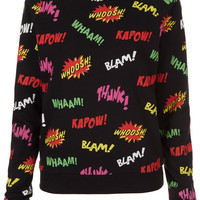 Comic Pop Art Sweat - New In This Week - New In - Topshop