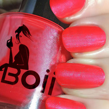 Boii Nail polish -Red hot
