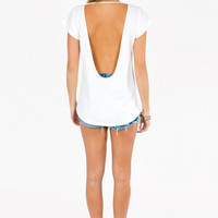 Open Back Top $21