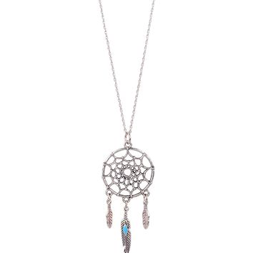 Butter Jewelry Dream Catcher Necklace