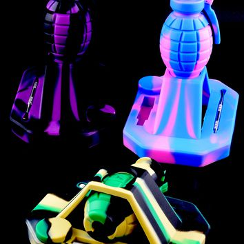 Grenade Silicone Nectar Collector Kit - B956