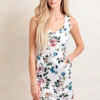 Rose Walkway Floral Dress
