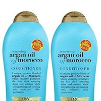 Organix Argan Oil of Morocco Shampoo 19.5oz & Conditioner 19.5oz (Bonus size Duo Set)