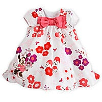 Minnie Mouse Woven Dress for Baby