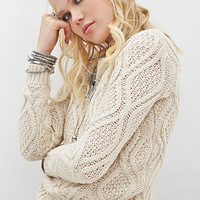 FOREVER 21 Chunky Knit Sweater