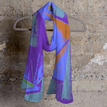 Abstract Cashmere Silk