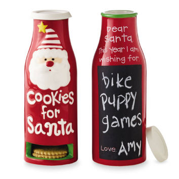 Cookies For Santa Milk Bottle