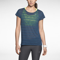 Nike Dri-FIT Touch Breeze Crew Women's Running Shirt - Nightshade