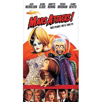 Mars Attacks 27x40 Movie Poster (1996)