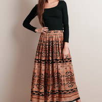 Sacred Place Maxi Skirt By Raga