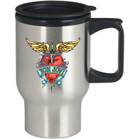 logo Bon Jovi For Stainless Travel Mug *