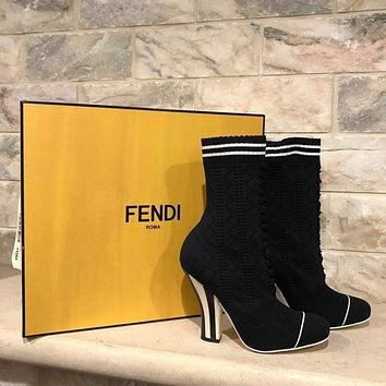 shosouvenir Fendi  Fashion sock shoes