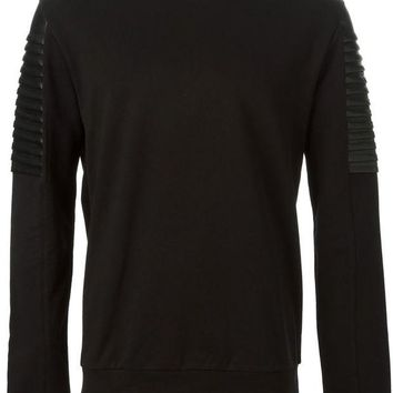 DCCKIN3 Versace Collection hard panel sweatshirt